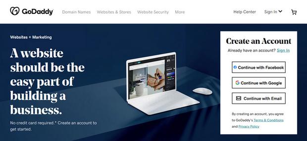 godaddy website builder