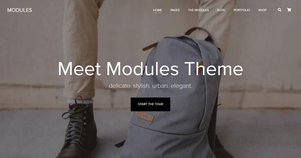 modules theme