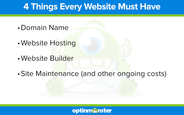 4 things every website must have