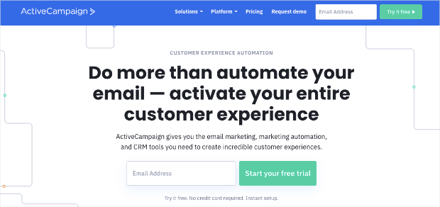 activecampaign email marketing automation tool