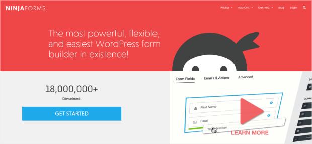 ninja forms online survey tools