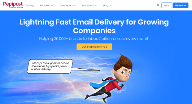 pepipost best smtp email service