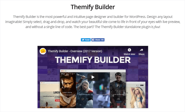 themify builder for wordpress