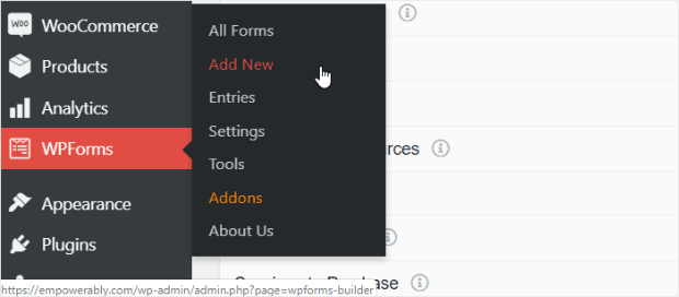 how to create a contact form with wpforms