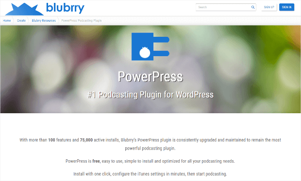powerpress podcast plugin for wordpress