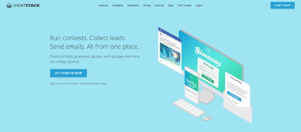 shortstack online contest tool