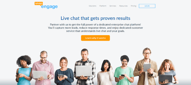 snapengage live chat software