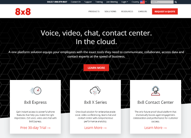 8x8 voip providers for business