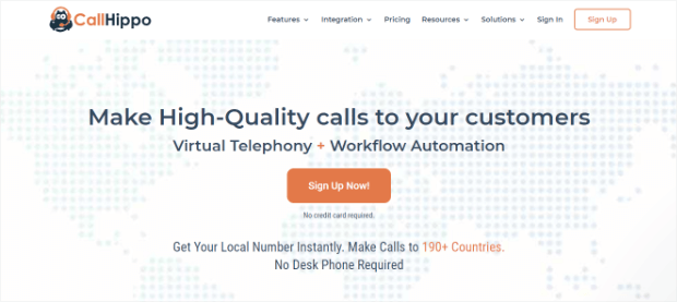 callhippo business phone systems voip