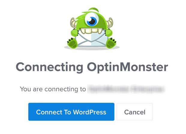 Connecting OptinMonster