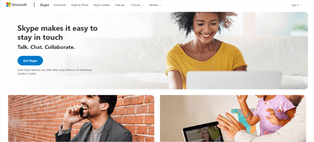skype business voip provider