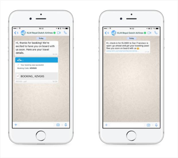 updates & notifications text