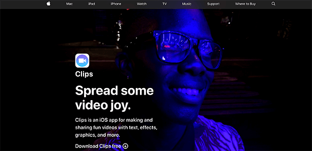 apple clips instagram video editing tools