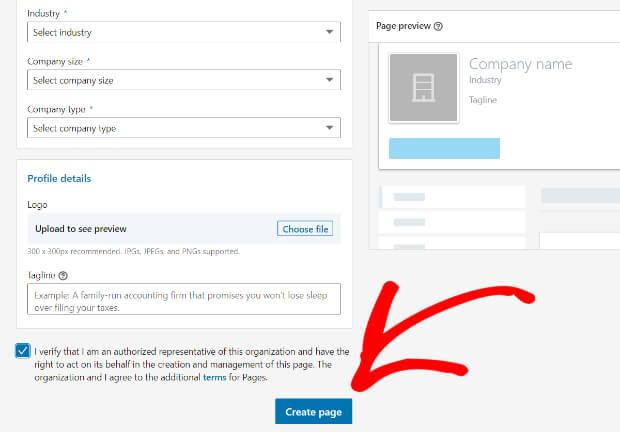 create-page-linkedin