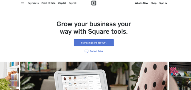 square mobile payments solutions