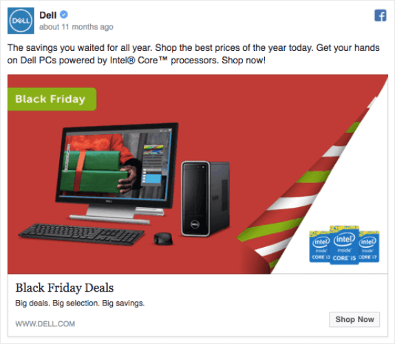 dell christmas ad