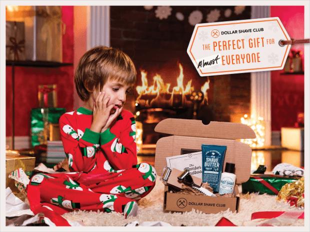 dollar shave club holiday marketing