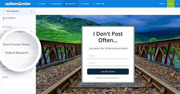 Jilt Email Provider Stores