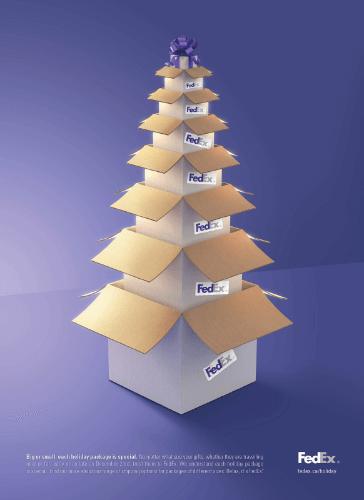 fedex holiday design
