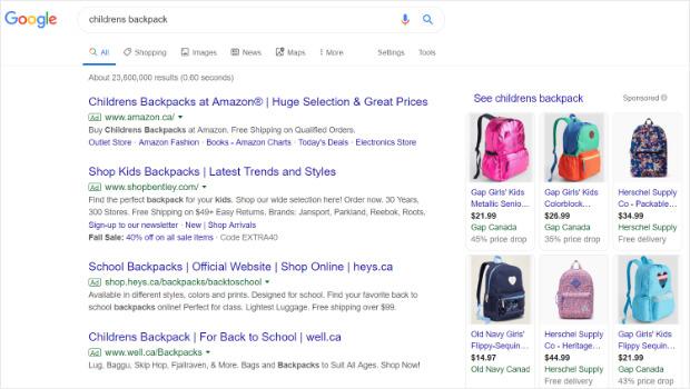 google-ecommerce-user-statistics
