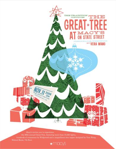 macy's great tree invitation