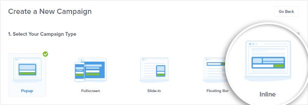choose inline type