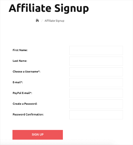 affiliate royale signup