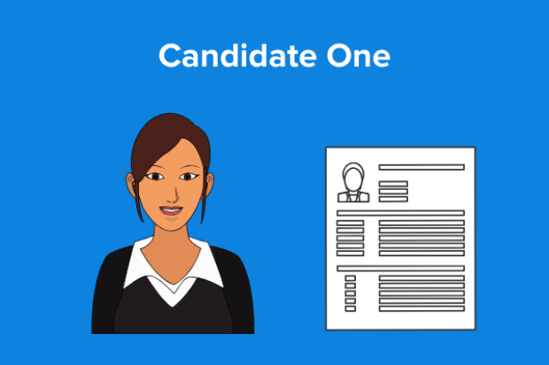 candidate one no personal brand