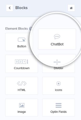 add chatbot
