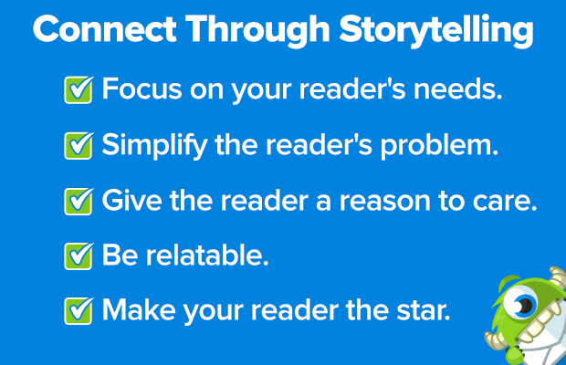 connect through storytelling