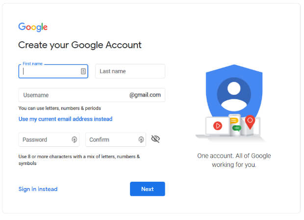 create-google-account-business