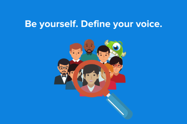 find your voice for your personal brand