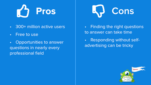 quora pros and cons