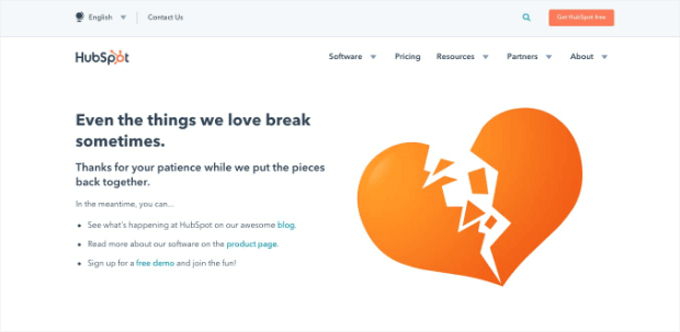 404-landing-page-example-from-hubspot