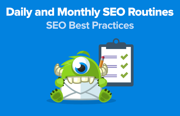 daily and monthly seo routines