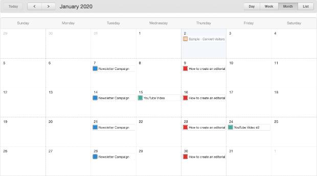 editorial calendar full