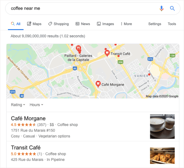 google-regional-search-results-for-coffee-near-me