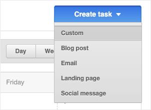 hubspot create task custom