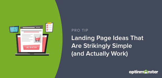 landing page ideas