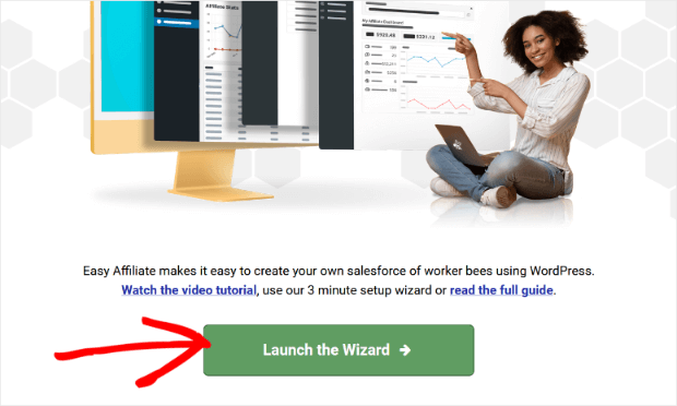 easy affiliate launch wizard