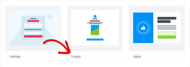 hustle template