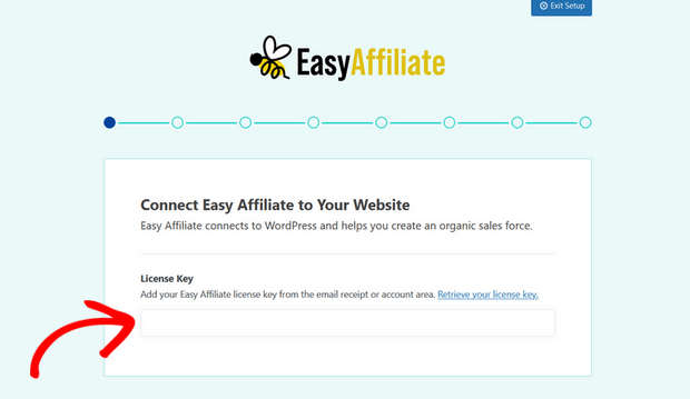 easy affiliate license key