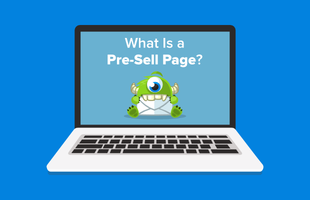 what is a presell page
