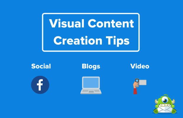 visual content creation tips good example