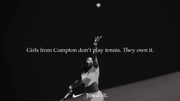 Visual content for nike campaign