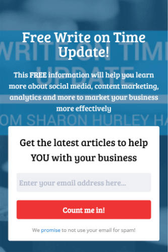 sidebar campaign example