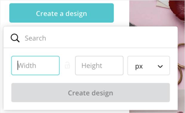 canva create a design min