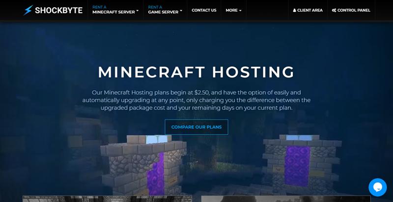 shockbyte homepage