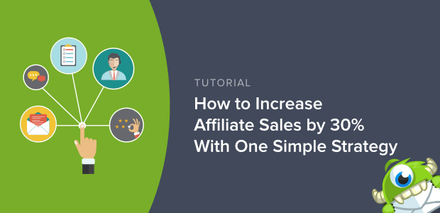 increase affiliate sales with exit intent