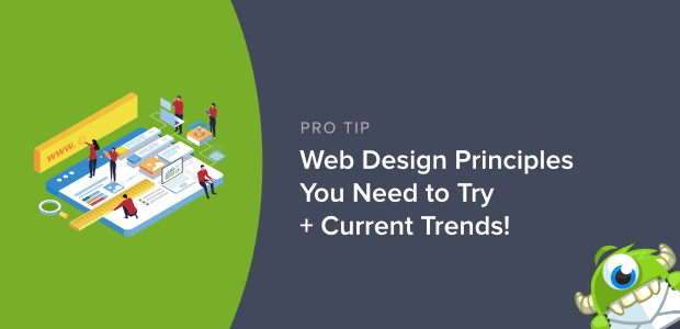 website design principles and trends